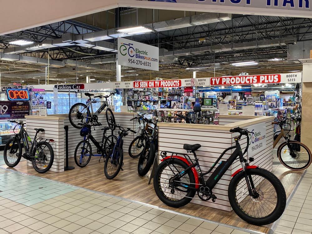 Electric Bikes Plus Kiosk